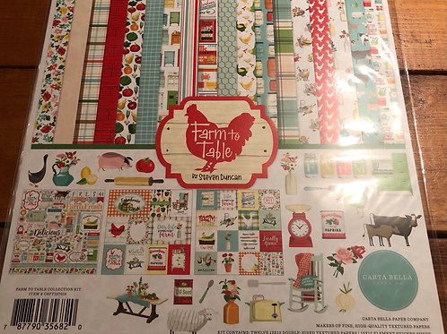 Farm To Table Paper Pack CBFT127016