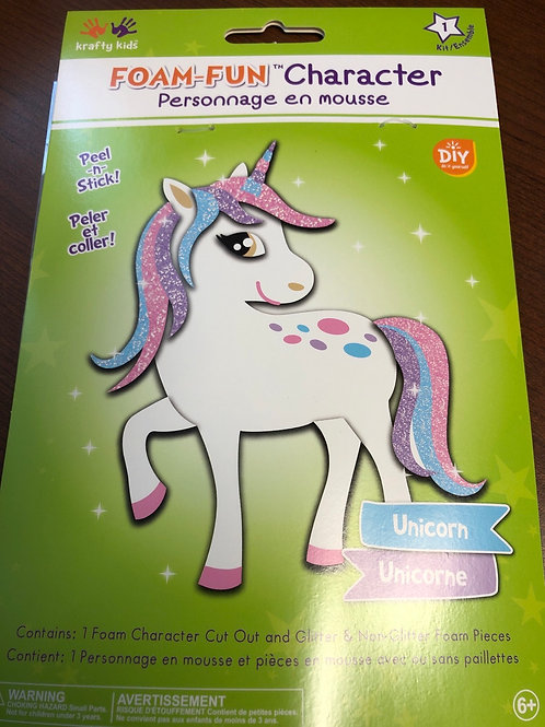 CK173C Foam Fun Character Unicorn