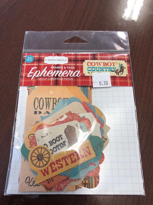 Cowboy Country Ephemera