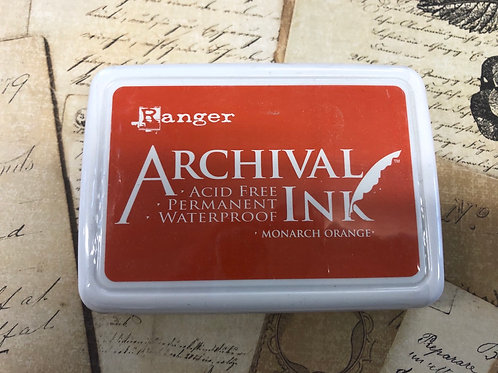 Archival Ink Stamp Pad Monarch