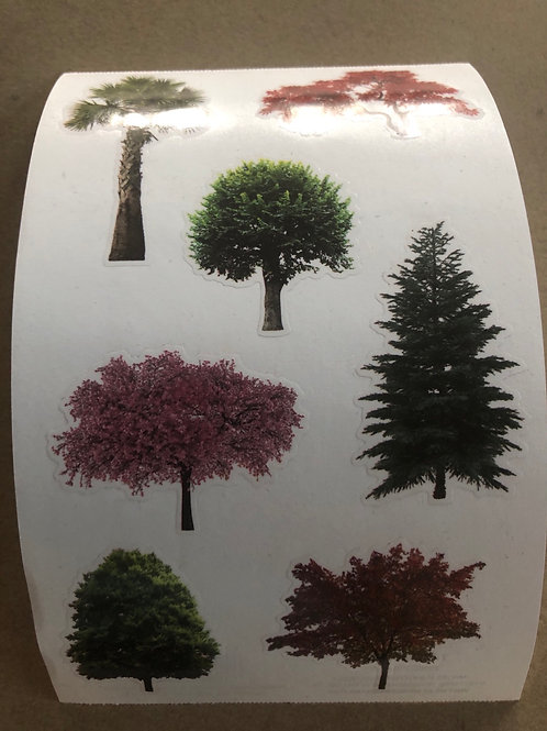 Trees In Nature Stickers