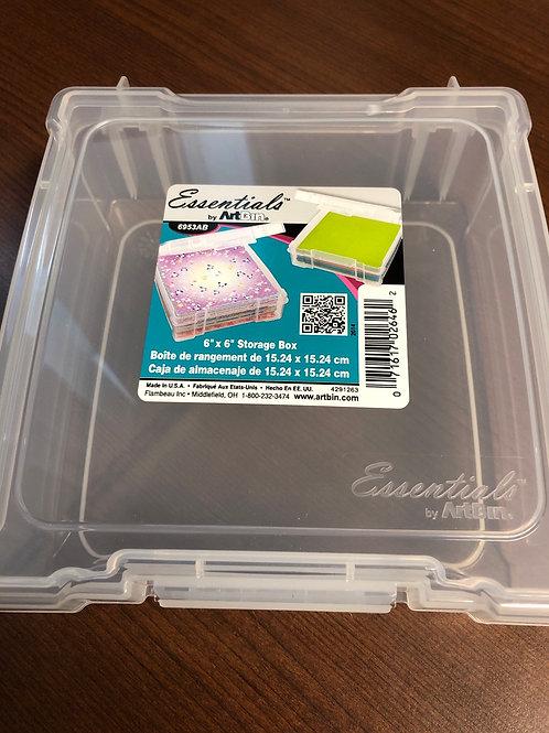 """6"""" x 6"""" Storage Box"""