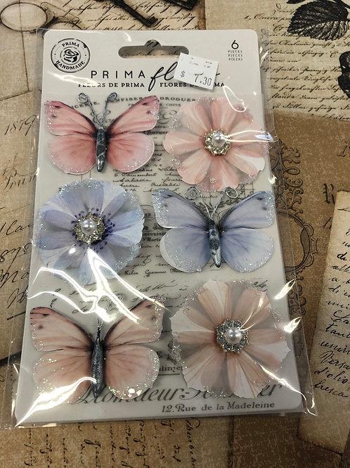 637354 Prima Flower/Butterflies