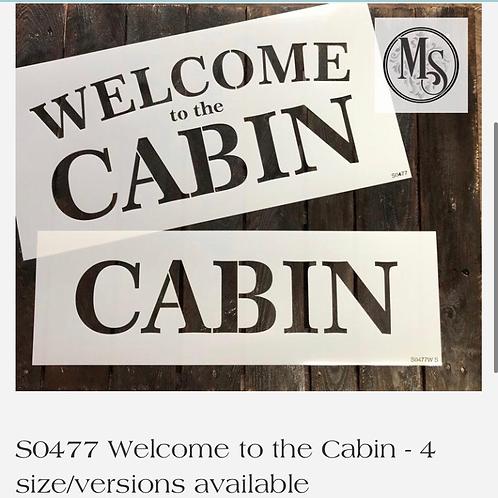 """S0477L Cabin 12.1""""x28"""""""
