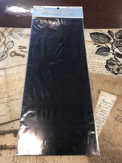 Bronze Metallic Shimmer Sheets 3 Pack