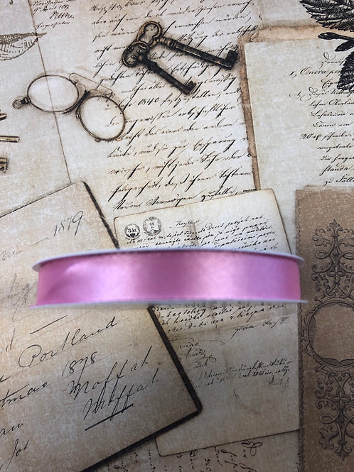 "0.4"" x 5 yards pink ribbon"