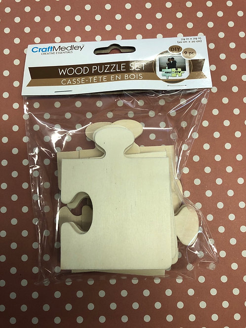 CW285 Wood Puzzle Set CW285