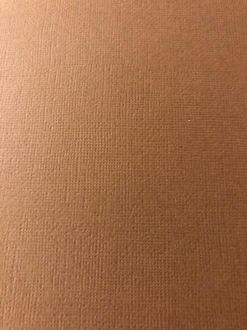 NT-6 Brown 12x12 Textured Cardstock