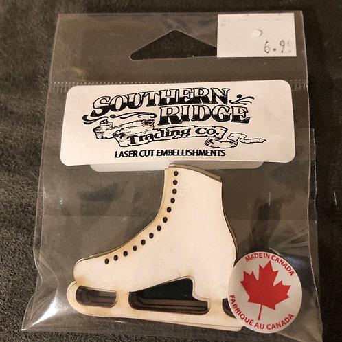 Figure Skates Chipboard