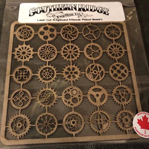 .7 Gears Chipboard