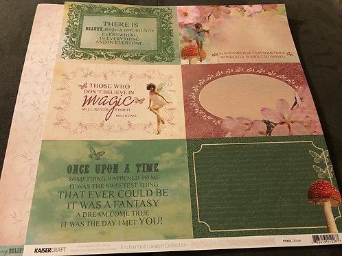 Allure P1226 Enchanted Garden Collection
