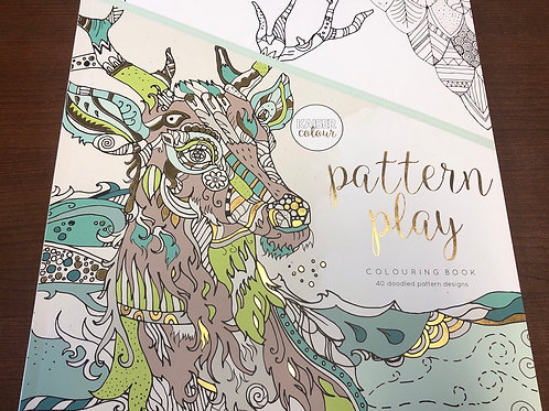CL527 Pattern Play Colouring Book