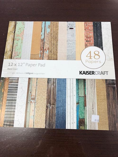 Basecoat Paper Pad