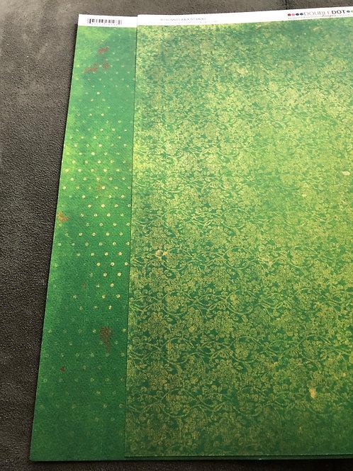 "12"" Wasabi Vintage BoBunny Paper"