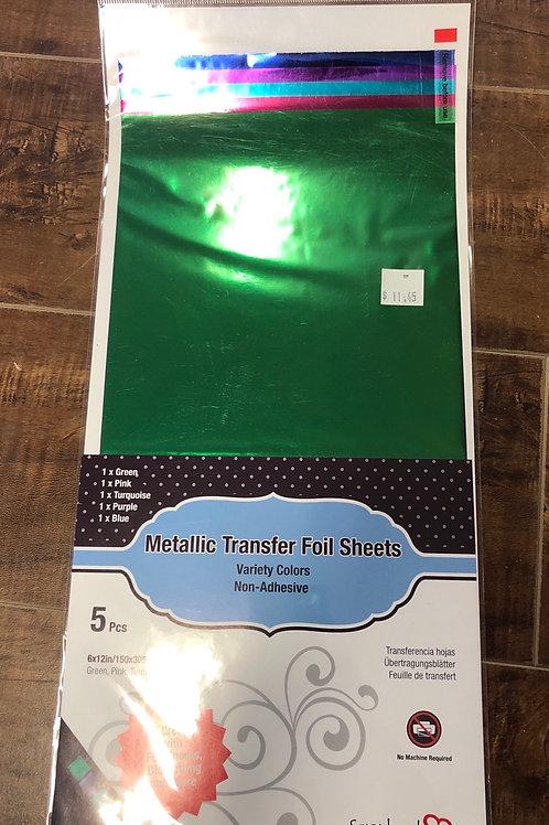Metallic Transfer Foil Sheet