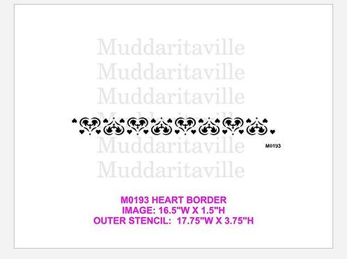 M0193 Heart Border