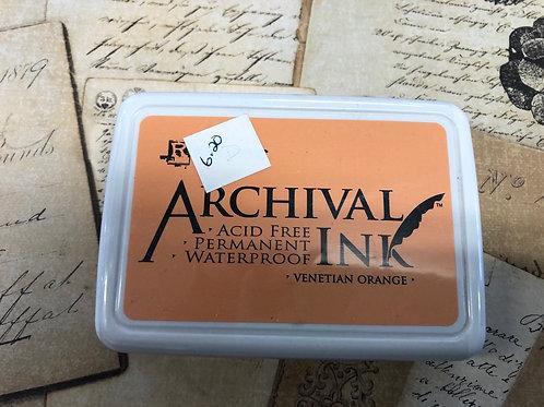 Archival Ink Venetian Orange