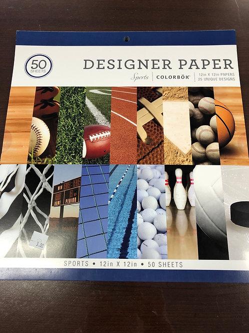 Sports Paper Pad