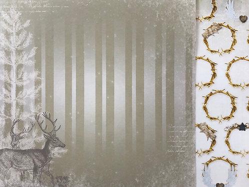 BoBunny Reindeer Paper 18701139