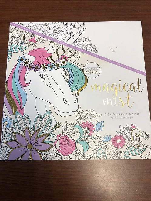 Magical Mist Colouring Book