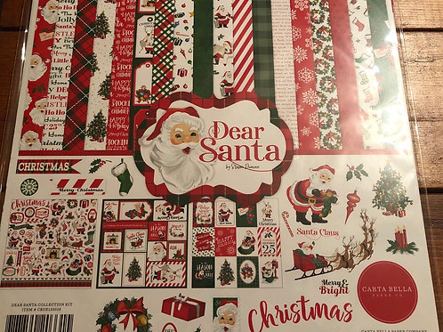 Carta Bella Dear Santa CBDE125016