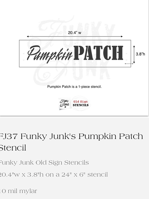 FJ37 Pumpkin Patch