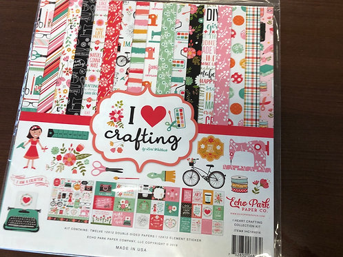 I Love Crafting Paper Pack