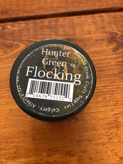 Hunter Green Flocking Powder