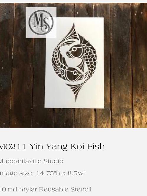 M0211 Yin Yang Kio Fish