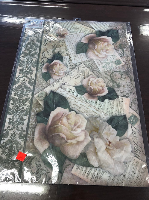 "1 Sheet Rice Paper 19"" x 13"" DFS267"