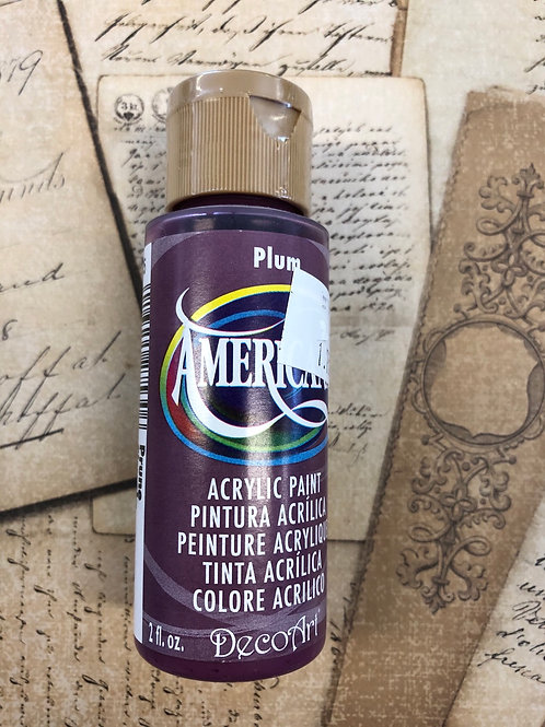 Acrylic Paint Plum