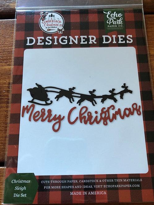 ALC220040 Christmas Sleigh Die