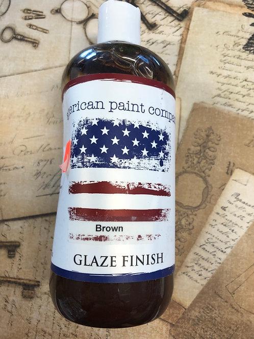 Brown Glaze Finish 16oz