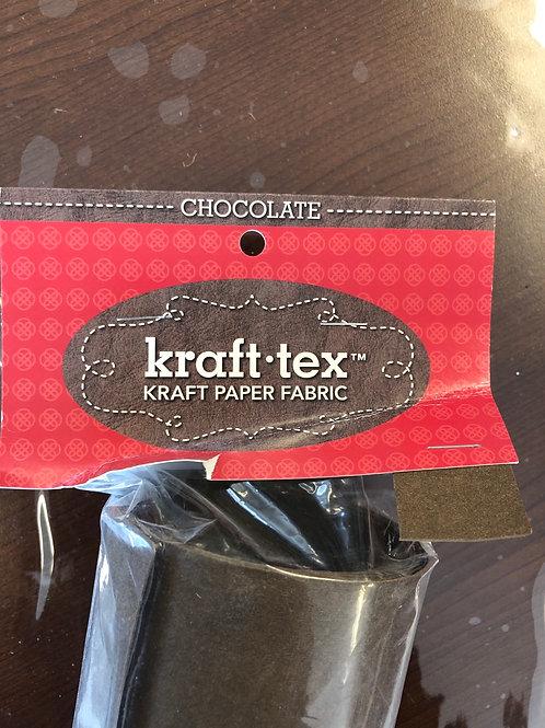 "Chocolate Kraft Tex 19"" x 1-1/2 yard"