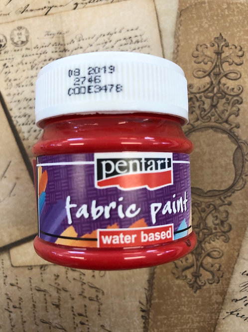 Fabric Paint Red