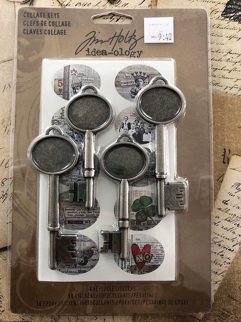 Collage Keys Metal