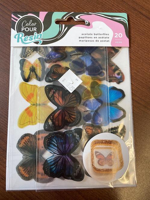 34004451 Color Pour Butterflies