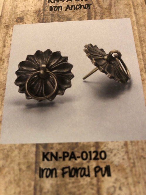 Iron Floral Pull KN-PA-0120