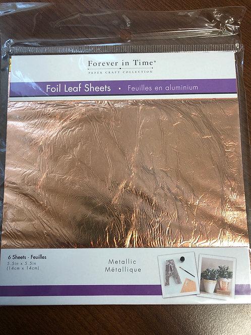 SE500C Foil Leaf Sheets Copper