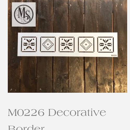 M0226 Decorative Border