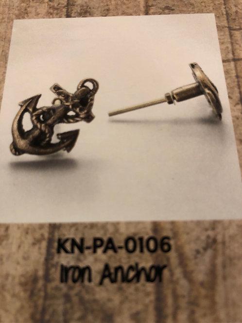 Iron Anchor Knob KN-PA-0106
