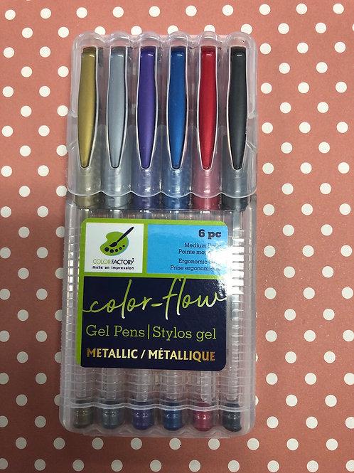 PA478B Metallic Gel Pen