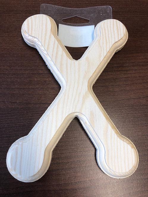 "6"" wooden X"