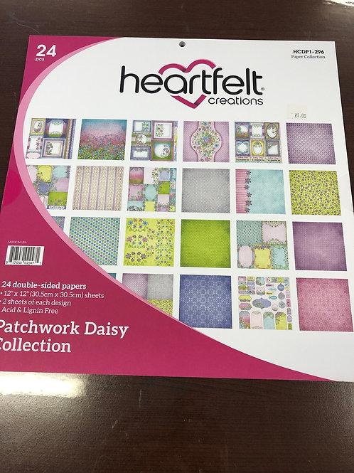 Heartfelt Patchwork Daisy Paper Pad