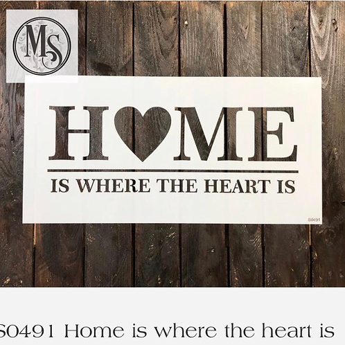 S0491 Home Is Where The Heart Is