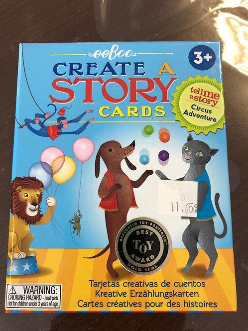 Circus Adventure Create A Story