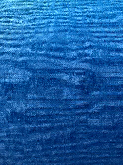 BT-6 Blue Textured Cardstock 12x12