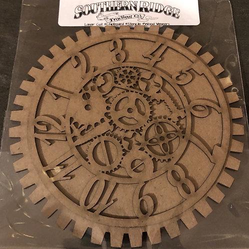 """6"""" Inner Workings Clock Chipboard"""