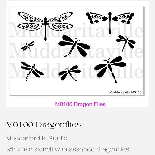 M0100 Dragonflies