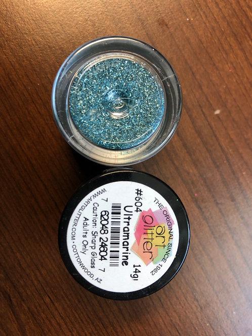 604 Ultramarine Sharp Glass Embossing Powder